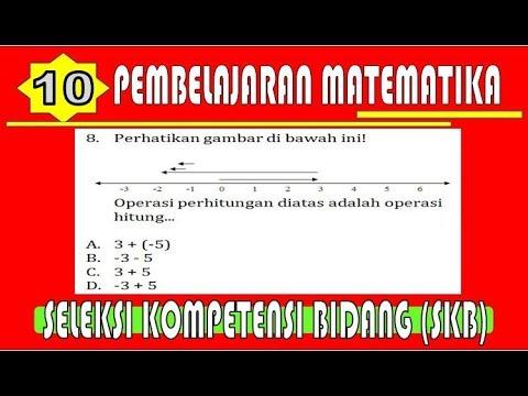 TKB GURU!!! Pembelajaran Matematika  I  Contoh Soal & Pembahasan SKB Guru