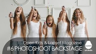 Open Kids - Lapset Magazine #6 Photoshoot Backstage | Music: Katy Perry - Walking On Air