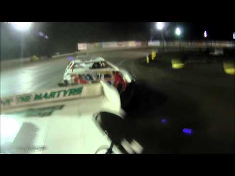 Tyler Sistrunk Motorsports - Volusia Speedway Park - 3-19-2016 - Rear Roof Feature Cam