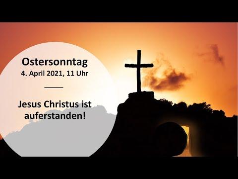 Gottesdienst Ostersonntag