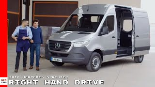 2018 Mercedes Sprinter Panel Van Right Hand Drive - Uk Spec