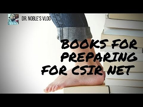 Books for preparing CSIR NET Lifesciences exam