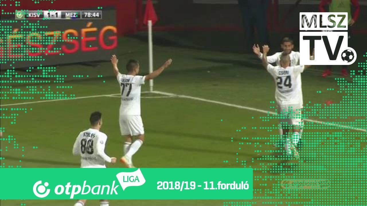 Molnár Gábor második gólja a Kisvárda Master Good  - Mezőkövesd Zsóry FC mérkőzésen