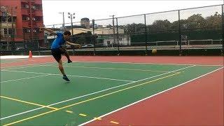 足球進階技術教學---腳背射門威力和準度如何兼顧(近距離腿部發力練習)