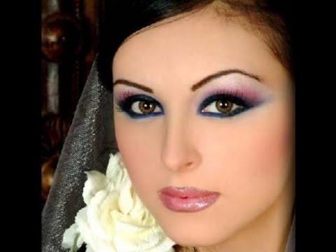 макияж в фото с голубыми глазами