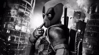 Zapętlaj Xavier Draws On The Wall: DeadPool   Xavier Drawsonthewall