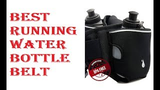 Best Running Water Bottle Belt 2018