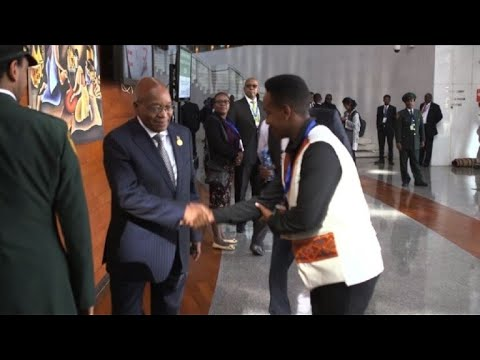 Head of States arrive at the 30th annual African Union summit