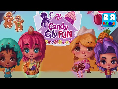 Candy City Fun (By TutoTOONS) - iOS / Android - Gameplay Video