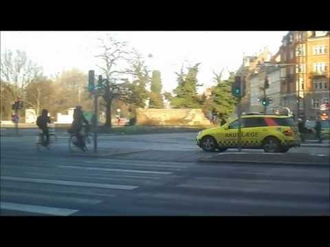 Mercedes ML320 Emergency Doctor Car - Copenhagen Fire Brigade/Main Station - On A Shout