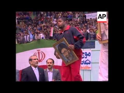 Iran - US wrestling team