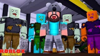 INFECTION INC ZOMBIE FACTORY!! | ROBLOX