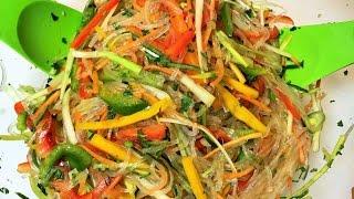 ФУНЧОЗА с овощами. Полезно и Вкусно!  Bean Threads with Vegetables