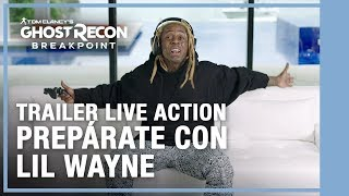 Tom Clancy's Ghost Recon Breakpoint: Prepárate con Lil Wayne Trailer Live Action
