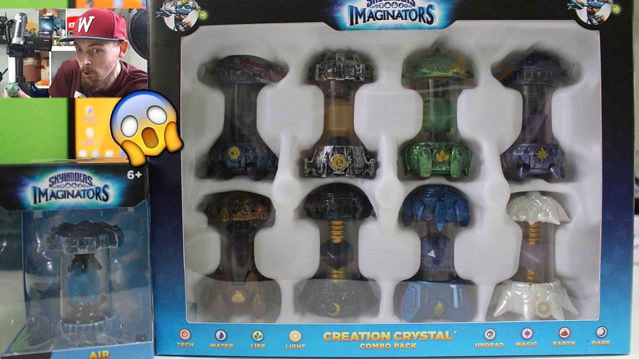 Skylanders Imaginators 8er Creation Crystal Combo Pack