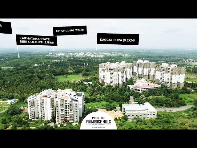 Prestige Primrose Hills  – 1 & 2 BHK Apartments off Kanakapura Road - Location Advantages
