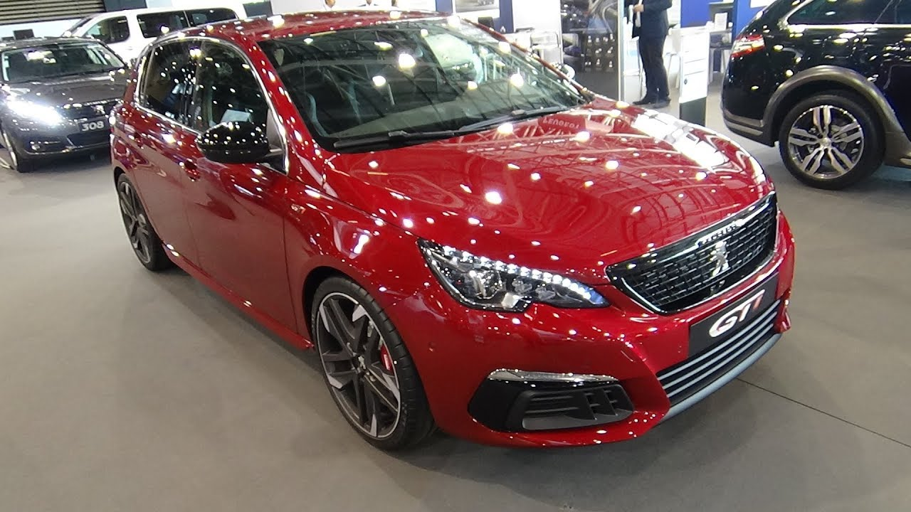 2018 peugeot 308 gti sport 1 6 thp exterior and interior salon automobile lyon 2017 youtube. Black Bedroom Furniture Sets. Home Design Ideas