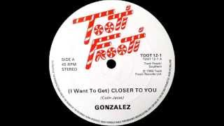 GONZALEZ - (I want to get) closer to you 82