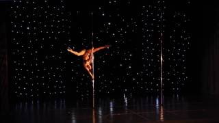 Doris Arnold - Greek Pole Dance Championship 2017 by Rad Polewear - Showcase