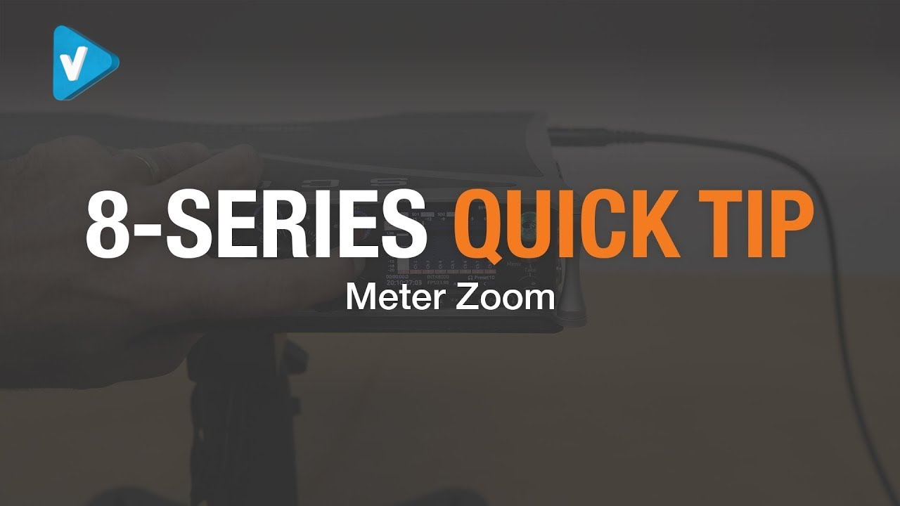 #SoundDevices Guide: 8-Series Quicktip: Meter Zoom