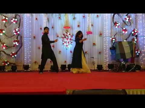 Chura ke dil Mera  sangeet  wedding dance  duet