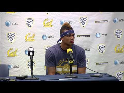 Cal Football: Chris Harper - Southern Utah Postgame (9/8/12)