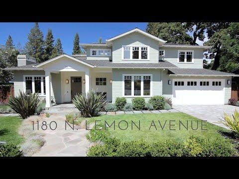 Gullixson presents 1180 N Lemon Avenue Menlo Park, CA