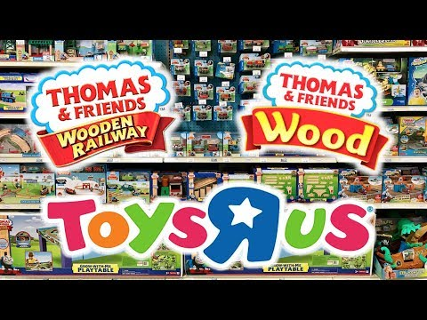 Toys R Us Thomas Wooden Railway To Thomas Wood Transition Vlog (July 2017 - June 2018)