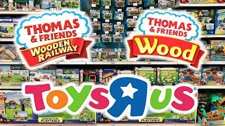 Toys R Us Thomas Wooden Railway To Thomas Wood Transition Vlog July 2017 - June 2018