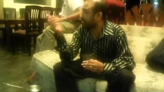 Raj Bopitiya and Rohana Darmakeerthi at Colombo Dockyard Paduru party