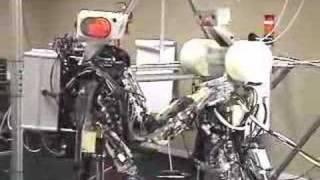 Anybots walking robot