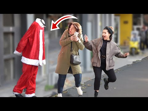 HEADLESS Scary Santa Claus Prank  | AWESOME REACTIONS