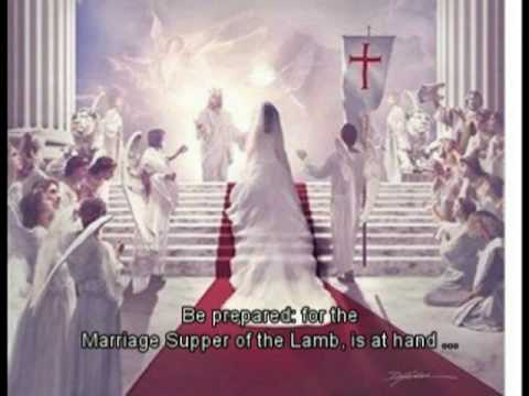Marriage supper of the lamb and end time events happening