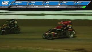 USAC NOS Energy Drink Midget Series | Bubba Raceway Park 2/8/20