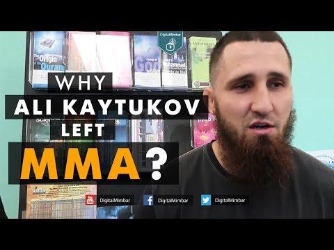 WHY ALI KAYTUKOV left fighting career in cage MMA?