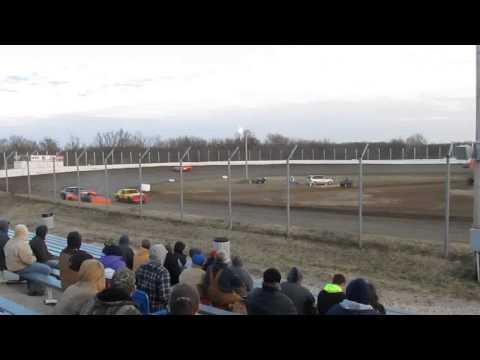 Humboldt Speedway Pure Stock Heat 1  3 22 2014