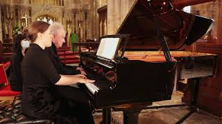 Amy Butler and Peter Sproston ~ Four Hands, One Grand Piano