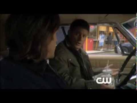 Supernatural --   Winchester's Diet ----Hamburgers, Pie and Alcohol?? -- Funny clips
