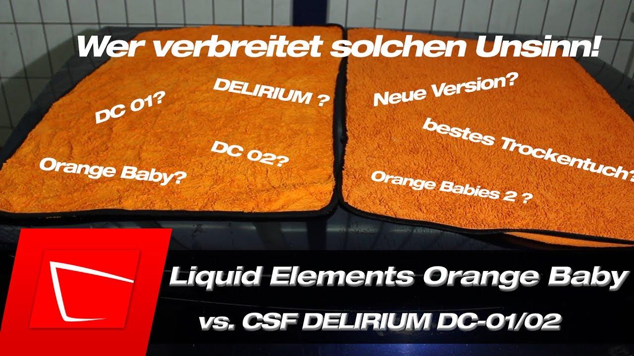 liquid elements orange baby und csf delirium dc 01 02. Black Bedroom Furniture Sets. Home Design Ideas