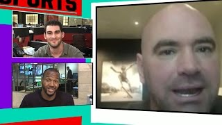 Dana White on Jon Jones- Cussing Out Cop Was Epically Dumb | TMZ Sports