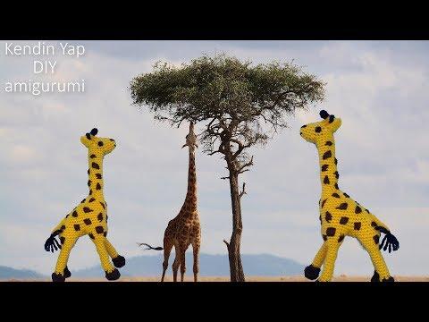 Amigurumi zürafa yapımı Amigurumi zürafa kol yapımı -02 - YouTube | 360x480