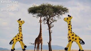 1 Amigurumi Zürafa Yapımı 80 Dakkikada Bitti
