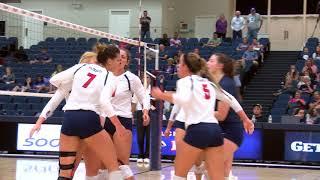 DBU Volleyball Highlights vs. No. 14 Tarleton State