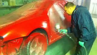 кузовной ремонт двери автомобиля