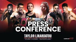 Nov 2 launch press conference | Katie Taylor, Anthony Crolla, Joshua Buatsi & more