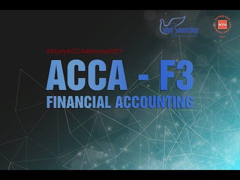 Học ACCA F3 FINANCIAL ACCOUNTING | VIETSOURCING |