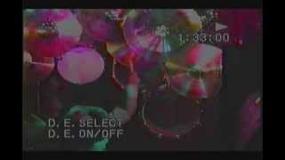 Dave Abbruzzese drum cam PORCH 1992