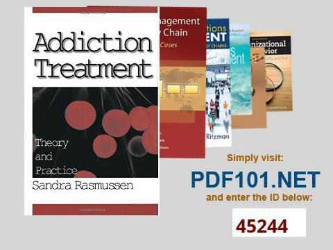 Addiction Treatment Theory and Practice