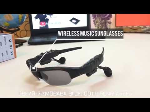 GB270-Gizmobaba Bluetooth Hands Free Sunglasses Goggles Gadget