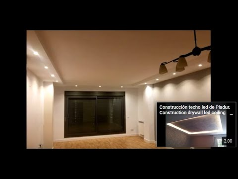 Decoracion en salon mochetas de pladur youtube - Decoracion columnas salon ...